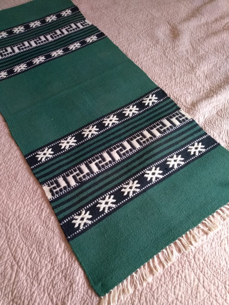 A vintage Greek textile.